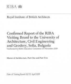 Διαπίστευση από RIBA